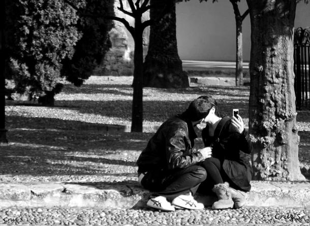 """""""Un beso para la eternidad"""", Cruz Santos"""