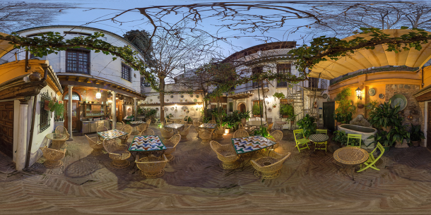 Hotel America Granada Patio_Felipe Passolas