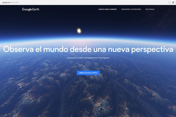 Ideas Google earth buscar localizaciones